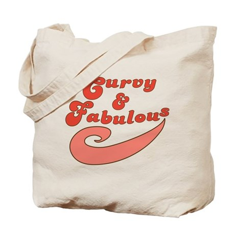 Curvy and Fabulous Tote Bag