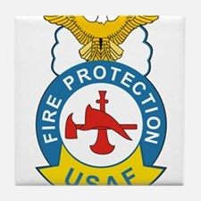 us_fire_fighter.png Tile Coaster
