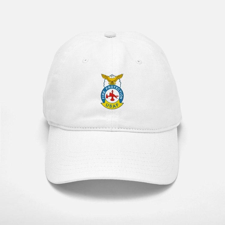 us_fire_fighter.png Baseball Baseball Cap