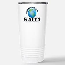 World's Greatest Kaiya Stainless Steel Travel Mug