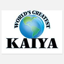 World's Greatest Kaiya Invitations