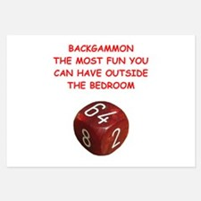 backgammon Invitations