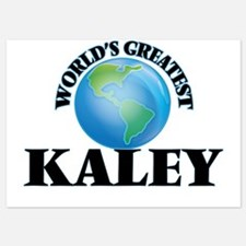 World's Greatest Kaley Invitations