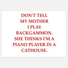 backgammom Invitations