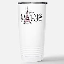J'aime Paris Stainless Steel Travel Mug