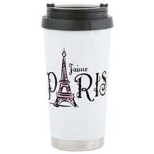 J'aime Paris Travel Mug