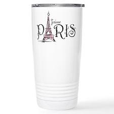 J'aime Paris Travel Coffee Mug