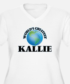World's Greatest Kallie Plus Size T-Shirt