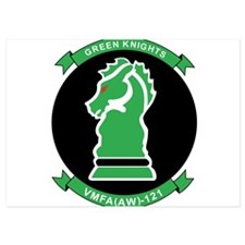 vmfa121_green_knights Invitations