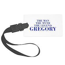 The Man Myth Legend GREGORY-bod blue Luggage Tag
