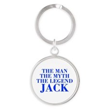 The Man Myth Legend JACK-bod blue Keychains