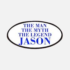 The Man Myth Legend JASON-bod blue Patches