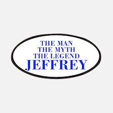 The Man Myth Legend JEFFREY-bod blue Patches