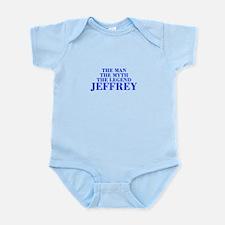 The Man Myth Legend JEFFREY-bod blue Body Suit