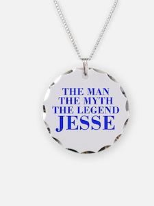 The Man Myth Legend JESSE-bod blue Necklace