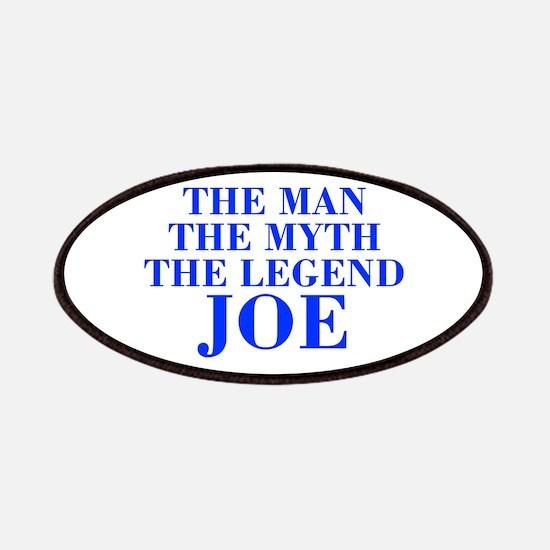 The Man Myth Legend JOE-bod blue Patches