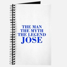 The Man Myth Legend JOSE-bod blue Journal