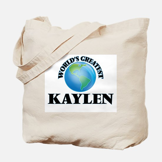 World's Greatest Kaylen Tote Bag