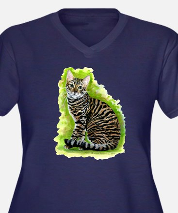 Toyger Plus Size T-Shirt