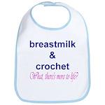 Breastmilk & Crochet Bib