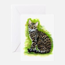 Toyger Greeting Cards