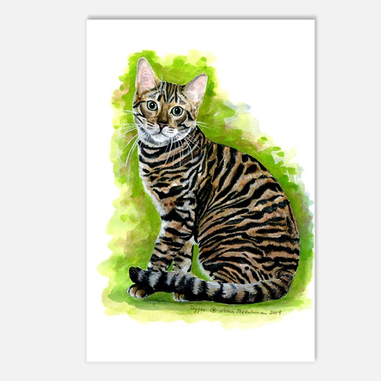 Toyger Postcards (package Of 8)