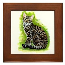 Toyger Framed Tile