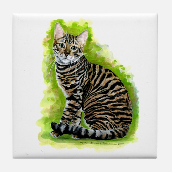 Toyger Tile Coaster