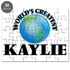 World's Greatest Kaylie Puzzle
