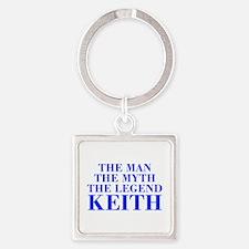 The Man Myth Legend KEITH-bod blue Keychains