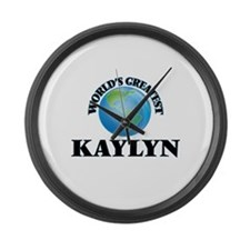 World's Greatest Kaylyn Large Wall Clock