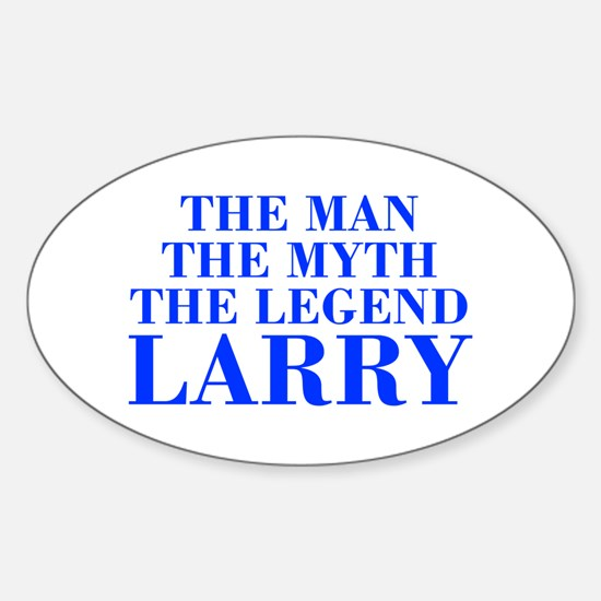 The Man Myth Legend LARRY-bod blue Decal