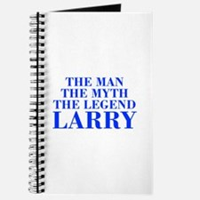 The Man Myth Legend LARRY-bod blue Journal