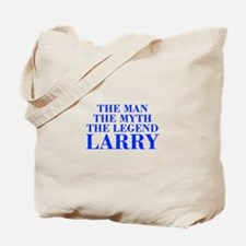 The Man Myth Legend LARRY-bod blue Tote Bag