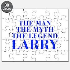 The Man Myth Legend LARRY-bod blue Puzzle