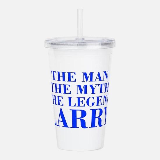The Man Myth Legend LARRY-bod blue Acrylic Double-