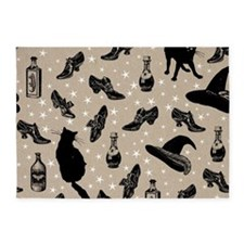 vintage witchy 5'x7'Area Rug