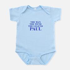 The Man Myth Legend PAUL-bod blue Body Suit