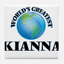 World's Greatest Kianna Tile Coaster