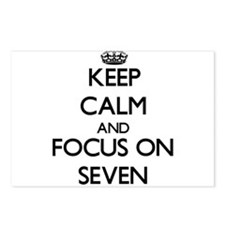 Keep Calm and focus on Se Postcards (Package of 8)