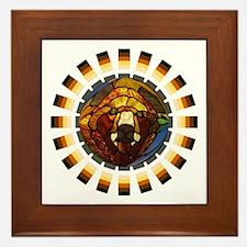 BEAR PRIDE/GLASS BEAR Framed Tile