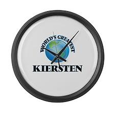 World's Greatest Kiersten Large Wall Clock