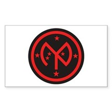 27th Infantry Rectangle Decal