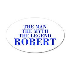 The Man Myth Legend ROBERT-bod blue Wall Decal