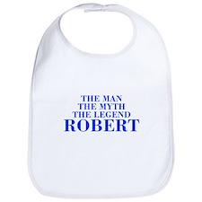 The Man Myth Legend ROBERT-bod blue Bib