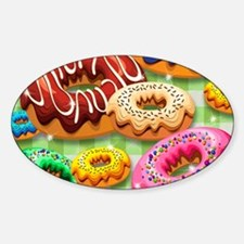 Donuts Party Time Decal