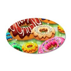Donuts Party Time Wall Decal