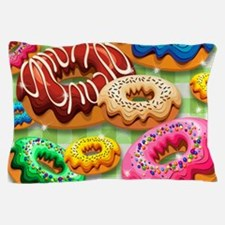 Donuts Party Time Pillow Case