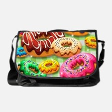 Donuts Party Time Messenger Bag