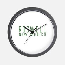 Roswell, New Mexico Wall Clock